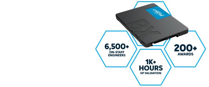 "Crucial BX500 2.5"" 960GB SSD"