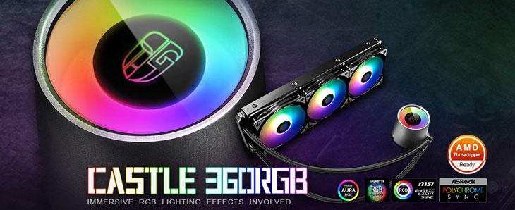 Deepcool Castle 360 RGB Liquid CPU Cooler