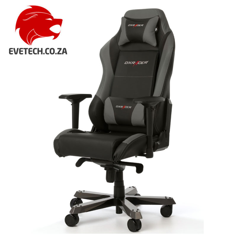 Charmant ... DXRacer Iron Series Black U0026 Grey Chair ...