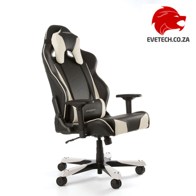 Outstanding Dxracer Tank Series Black White Gaming Chair Oh Ts29 Nw Dailytribune Chair Design For Home Dailytribuneorg