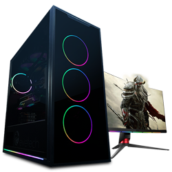 10th Gen Core i7 10700 4.8GHz RX 5700  8GB Professional Gaming PC