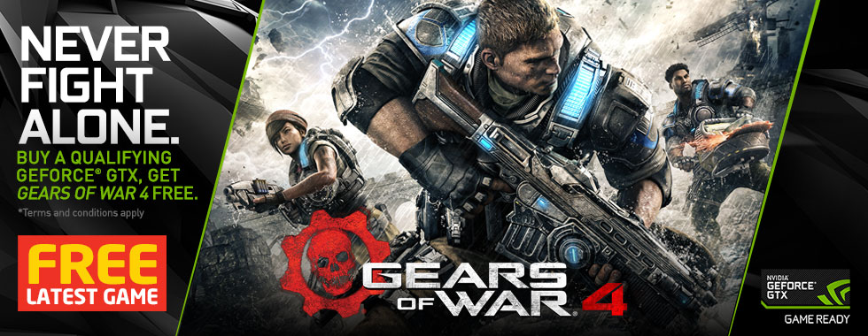 FREE Gears Of War 4 PC GAME