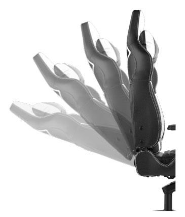Gamdias Achilles M1 Gaming Chair - Black