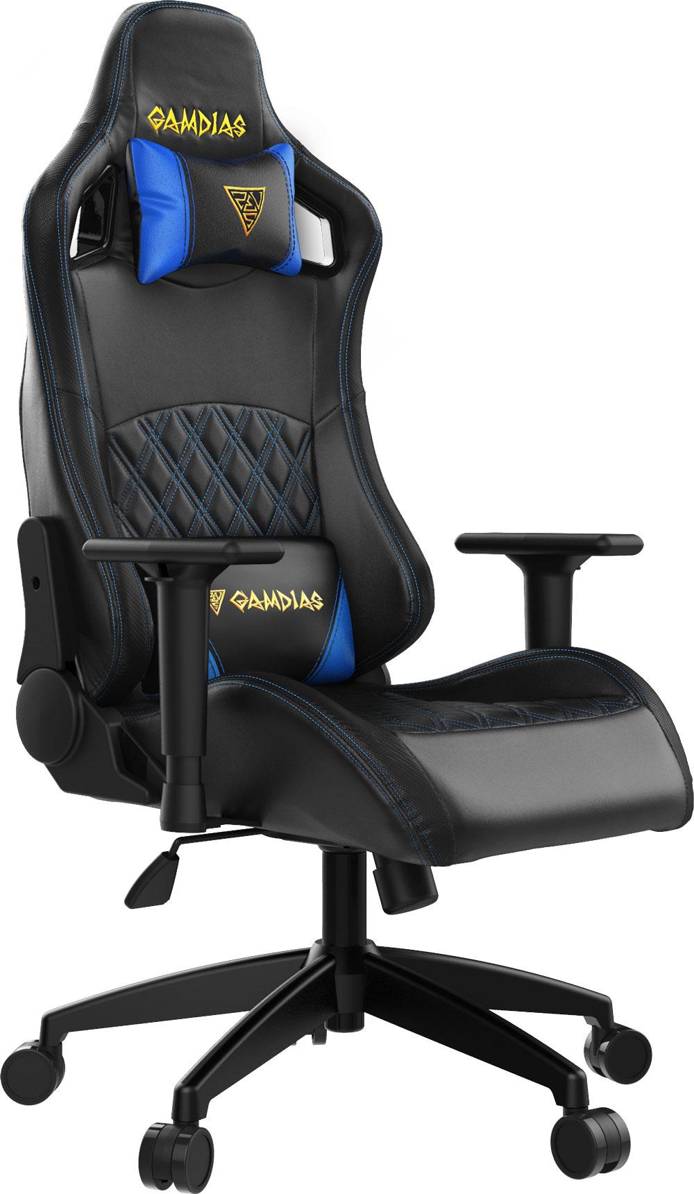 Gamdias Aphrodite EF1 Gaming Chair - Black/Blue