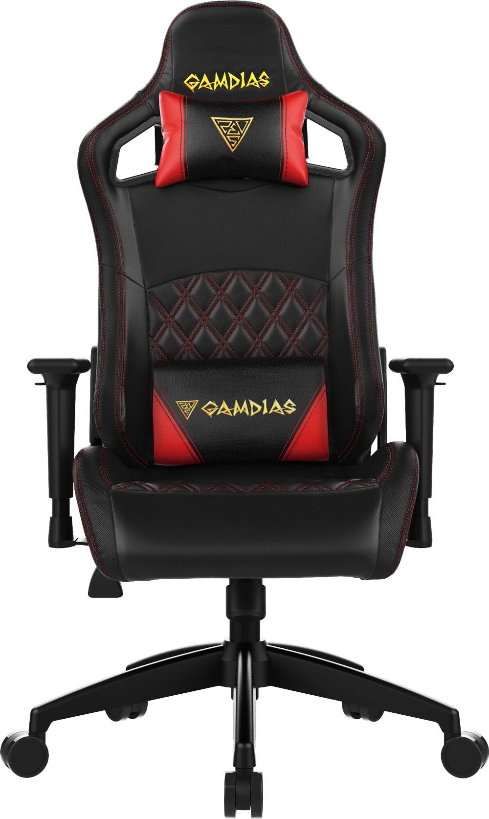 Gamdias Aphrodite EF1 Gaming Chair - Black/Red