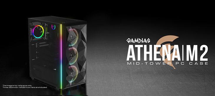 Gamdias ATHENA M2 Gaming Case