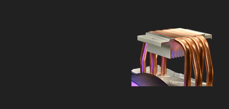 Gamdias BOREAS E1 410 LITE CPU Air Cooler