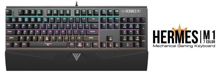 Gamdias Hermes M1 Mechanical Gaming Keyboard - Brown Switches