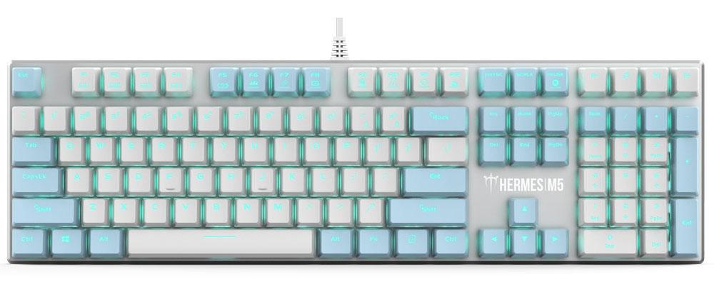 Gamdias Hermes M5 Mechanical Keyboard - Blue Switches