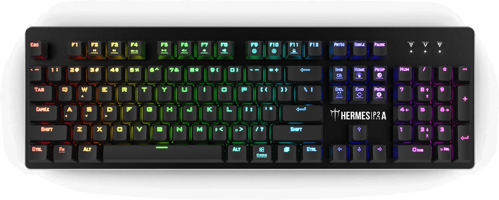 Gamdias Hermes P2A RGB Optical Mechanical Keyboard