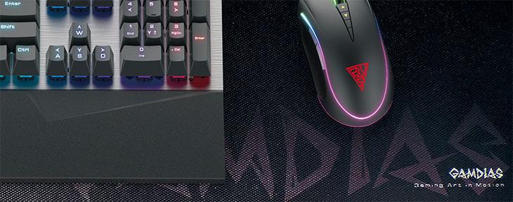 Gamdias NYX P1 RGB Gaming Mouse Mat