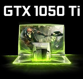 GeForce GTX 1050 Ti Gaming Laptops