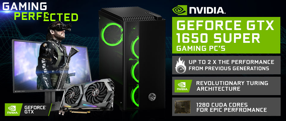 NVIDIA GTX 1650 Gaming PCs South Africa