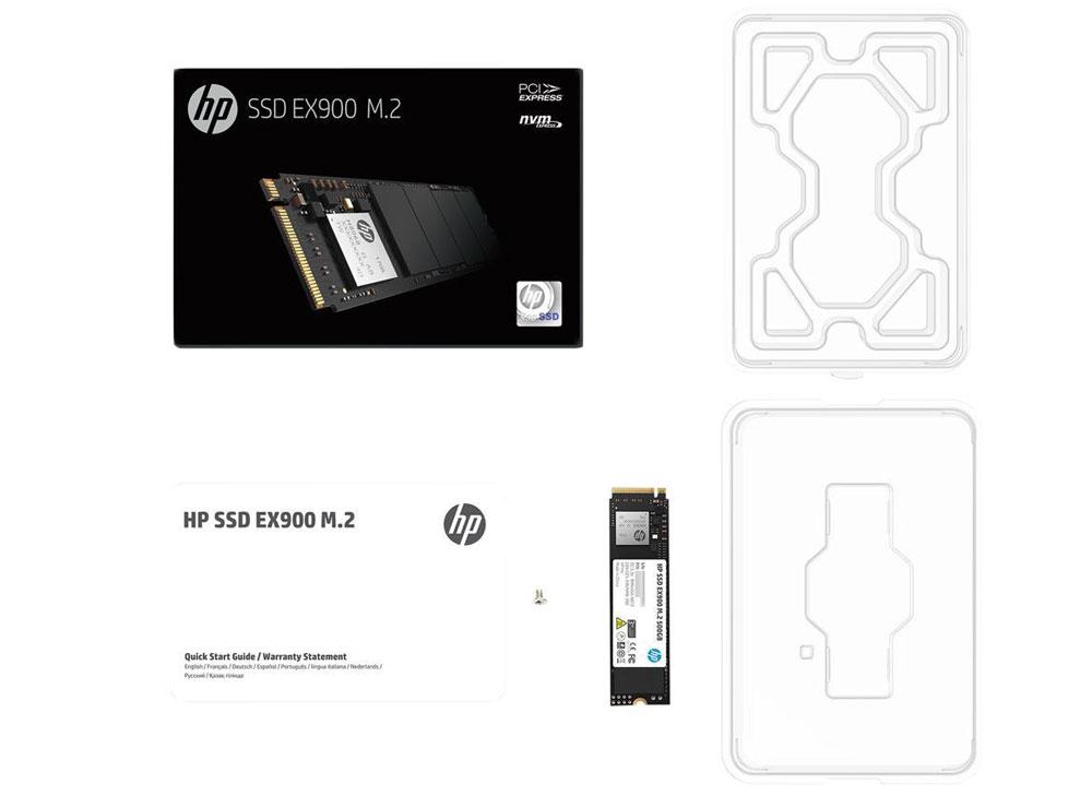 HP EX900 250GB M.2 PCI-e NVMe Internal SSD
