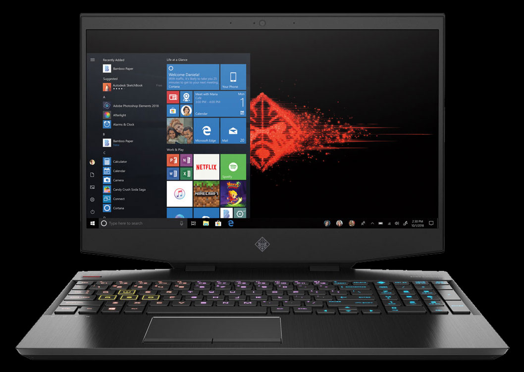HP OMEN 15 Core i7 RTX 2060 Gaming Laptop (8UH73EA)