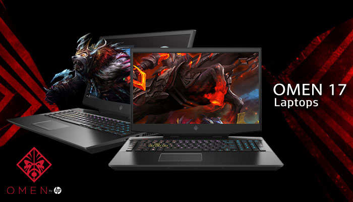 HP OMEN 17 Core i7 GTX 1660 Ti Gaming Laptop With 2TB SSD