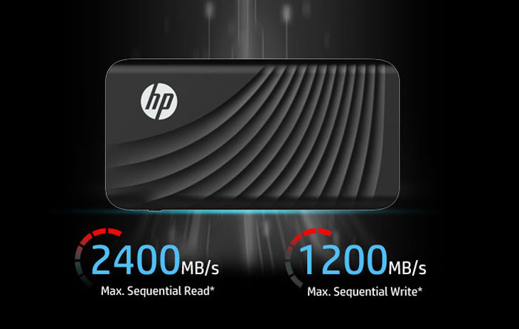 HP Portable SSD P800 External SSD