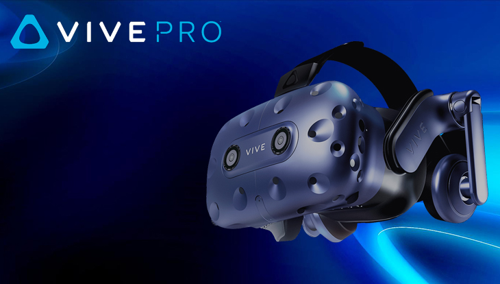 HTC VIVE Pro - Virtual Reality (VR) Headset / International plug required