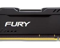 HyperX Fury 4GB DDR4 2133MHz RAM - Black