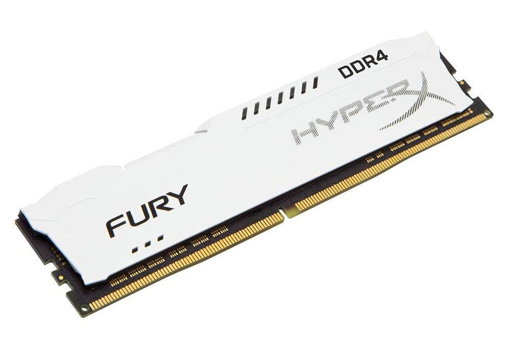 Kingston HyperX FURY 8GB DDR4 2666MHz Desktop Memory White