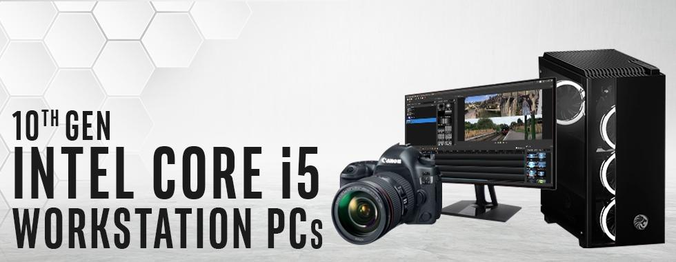 Intel 10th Gen Core i5 Workstation PCs