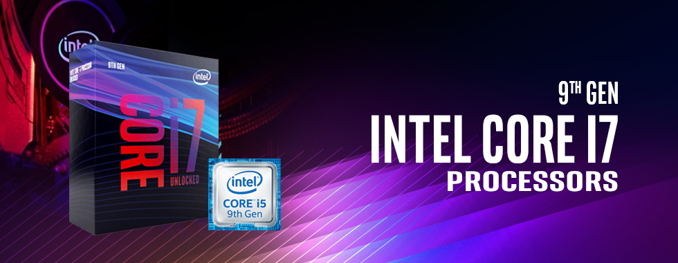 Intel 9th Gen Core i7 Processors