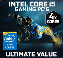Intel Core i5 Gaming PCs