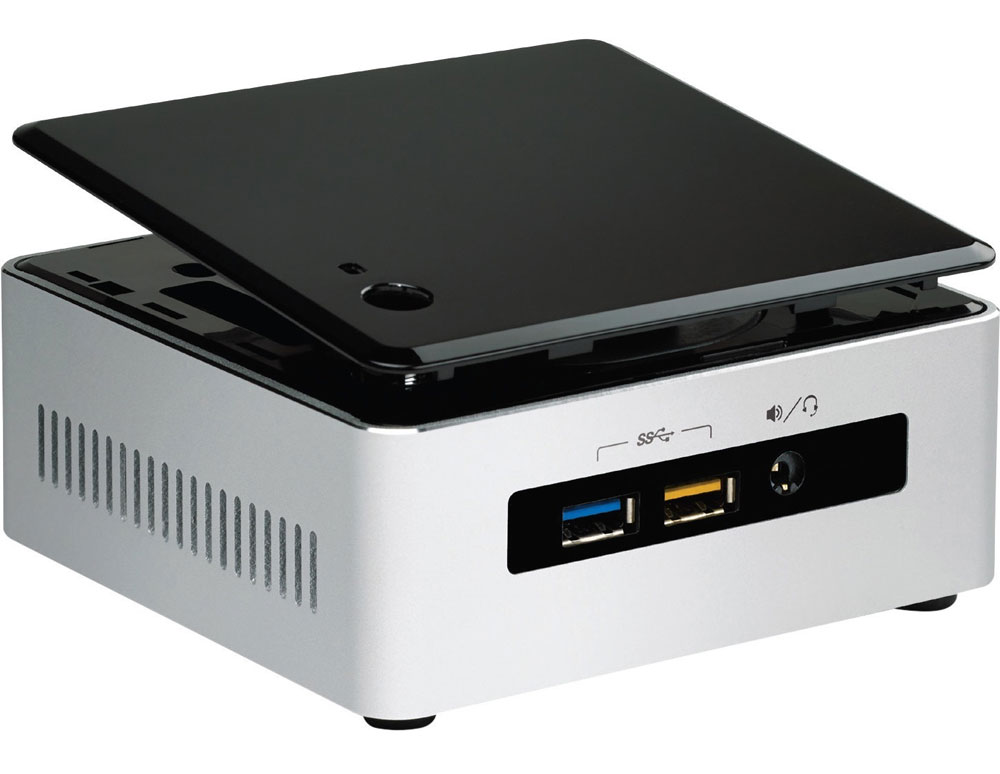 Intel NUC NUC5I3RYHS Intel Core i3 Mini PC Kit With 512GB SSD And 8GB RAM