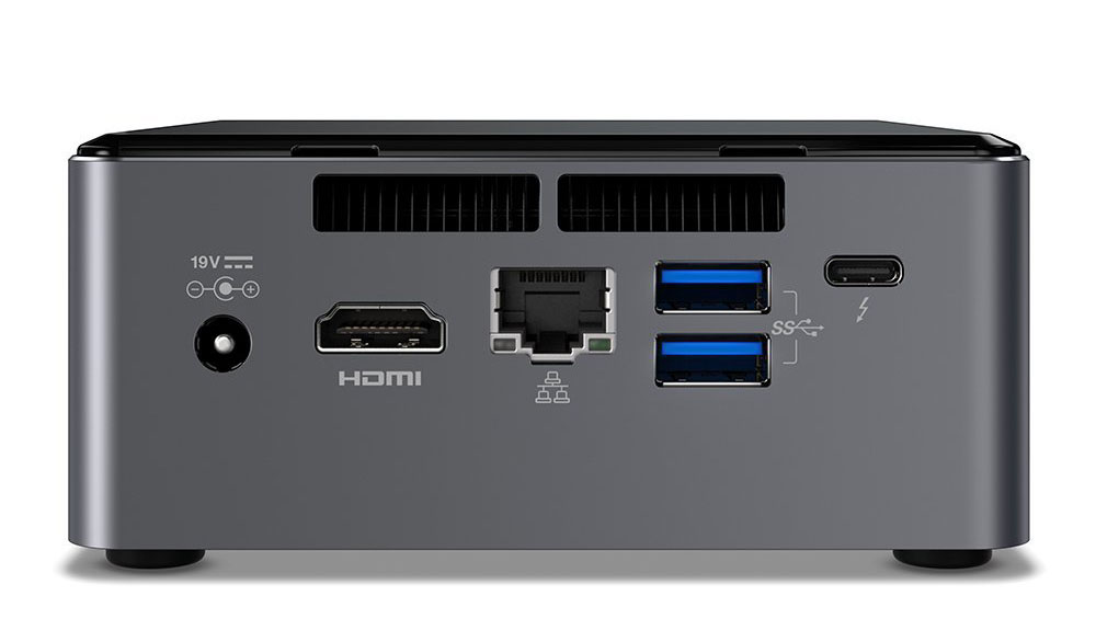 Intel NUC NUC7i7BNH Intel Core i7 Mini PC Kit With 128GB SSD And 16GB RAM