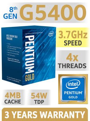 Intel Pentium Gold G5400 Processor - Free Shipping - South ...