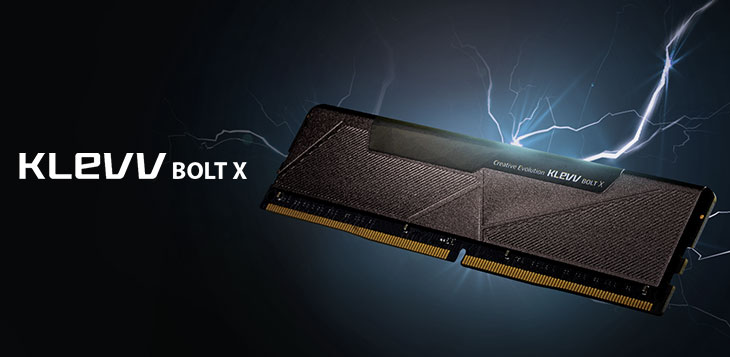 KLEVV BOLT X DDR4 3200MHz Desktop Gaming Memory