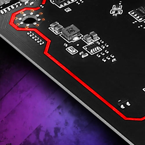 MSI H310M PRO-VD Isolated audio design with Isolated Audio with RGB LED Line