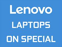 Lenovo Laptops On Special