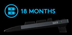 Logitech G613 Wireless Gaming Keyboard