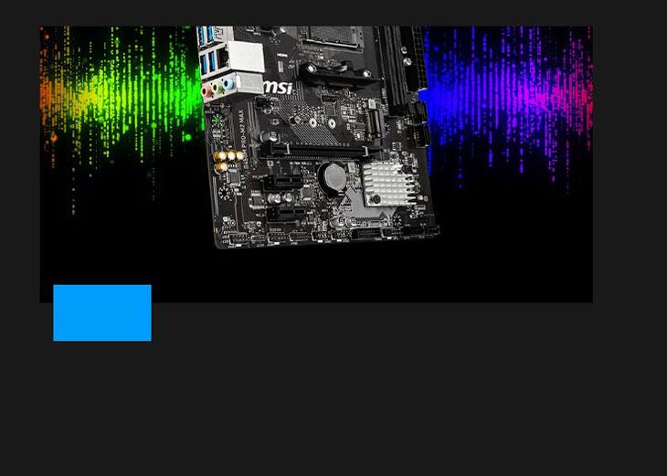 MSI B450M PRO-M2 MAX Ryzen Motherboard