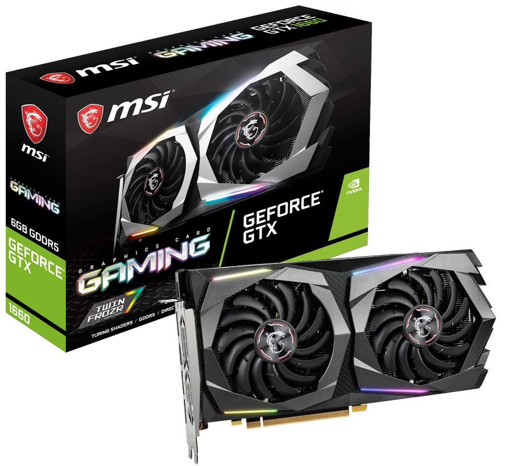 MSI GTX 1660 GAMING 6GB