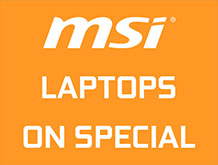MSI Laptops On Special