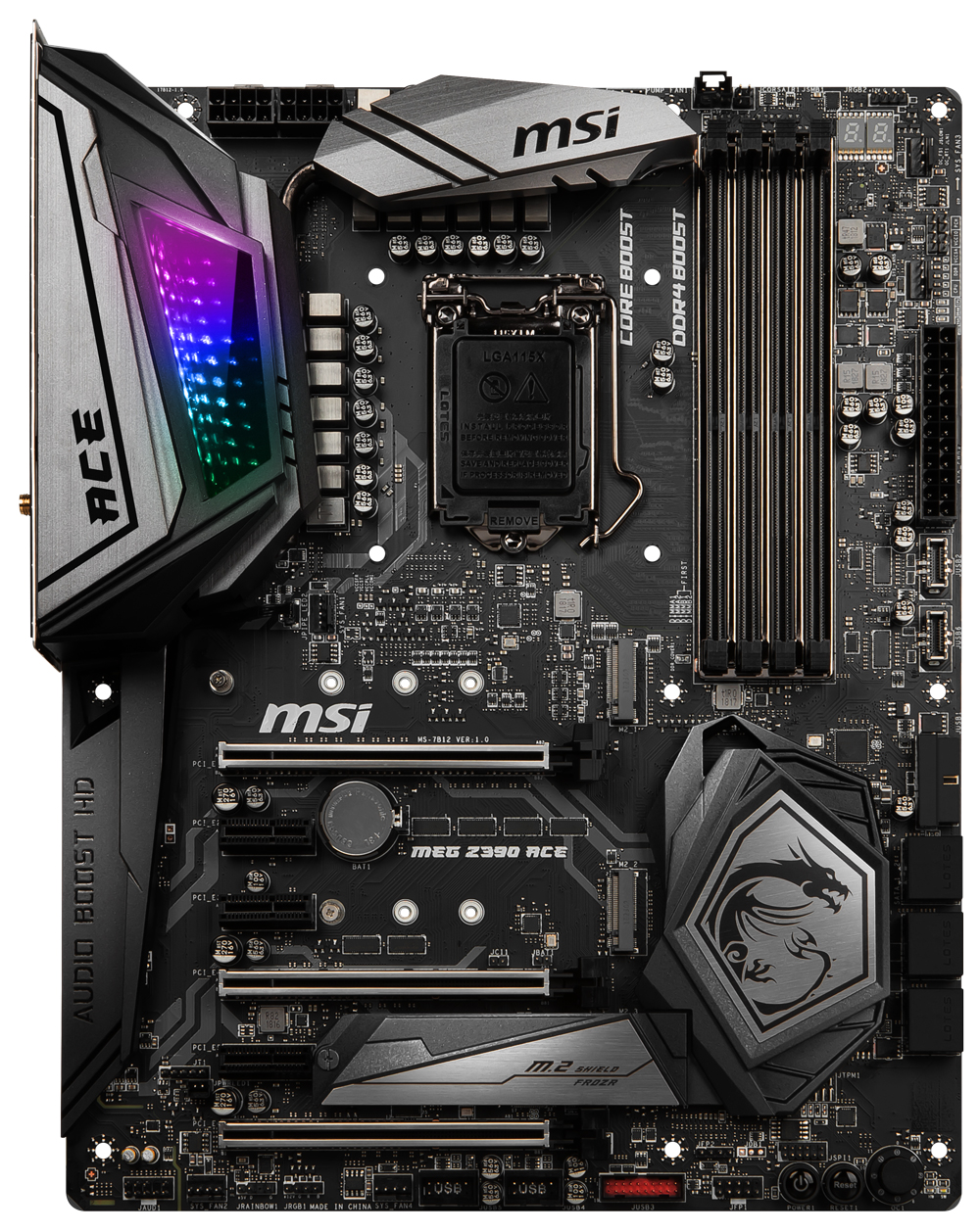 Core i9 9900K MEG Z390 ACE 8GB RGB Upgrade Kit
