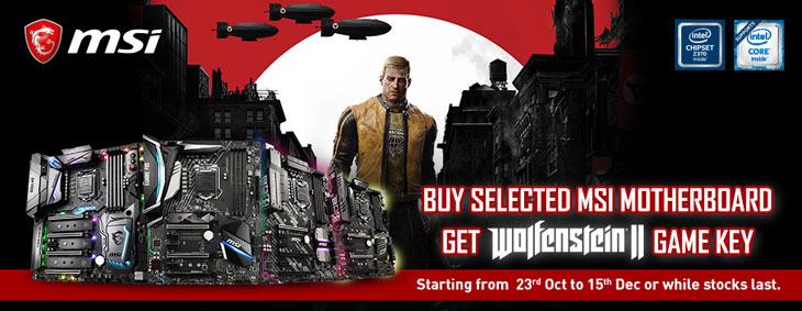 GET LATEST PC GAME: (Wolfenstein II: The New Colossus) From MSI
