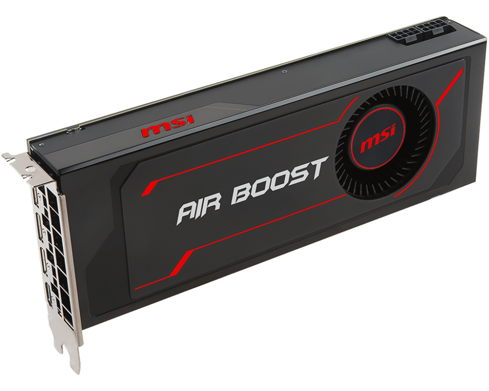MSI Radeon RX Vega 64 Air Boost 8GB OC Graphics Card
