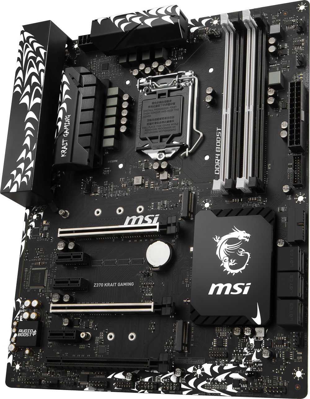 Core i5 8400 Gaming Pro Upgrade Kit - MSI Z370 KRAIT GAMING USB 3 1  Motherboard + Intel 8th Gen Core i5 8400 4 0GHz CPU + Crucial 8GB DDR4  2400MHz RAM