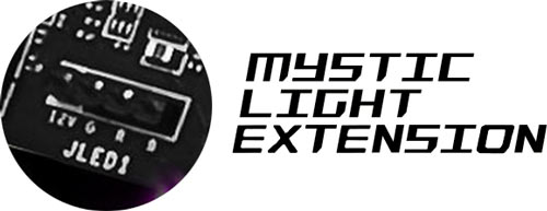 Mystic LMSI X370 XPOWER GAMING TITANIUM AMD Motherboard ight Extension