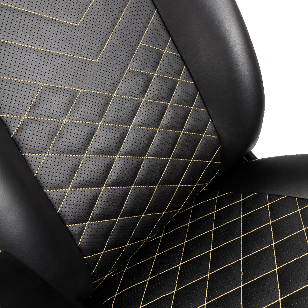 noblechairs ICON Series Gaming Chair - Black/Gold