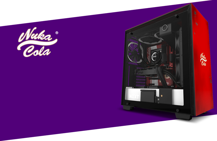 NZXT H700 Nuka Cola Edition Gaming Case