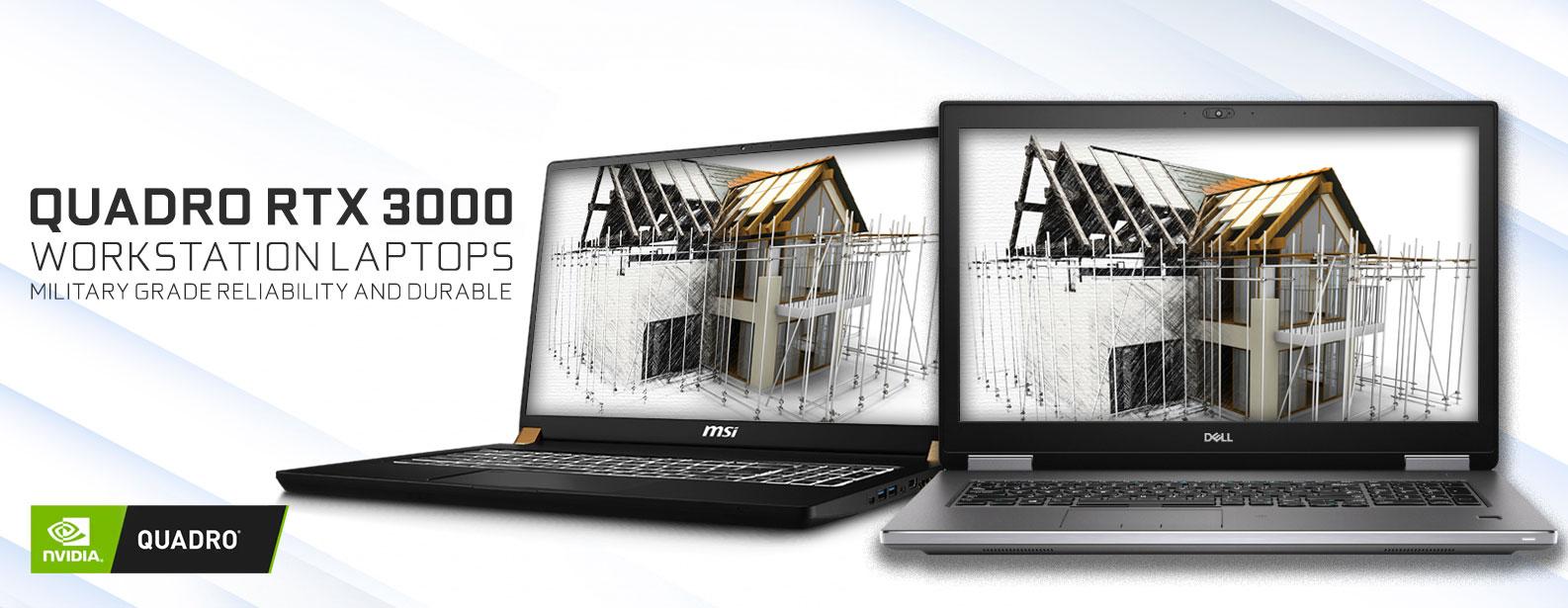 Quadro RTX 3000 Workstation Laptop Deals