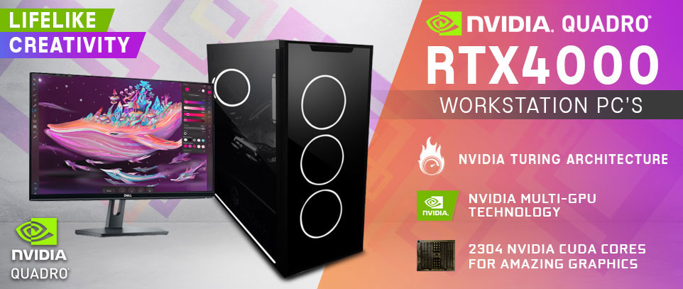Quadro RTX 4000 Workstation PCs