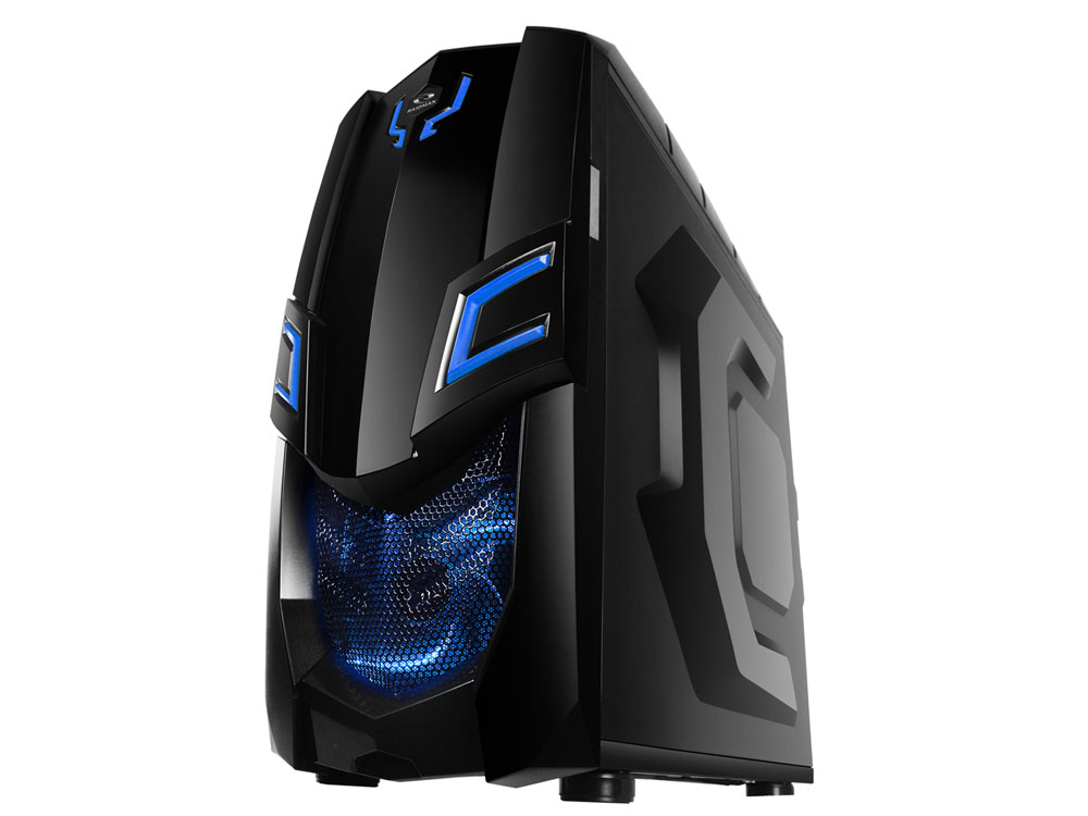 Raidmax Viper Gx Ii Atx Computer Case Blue