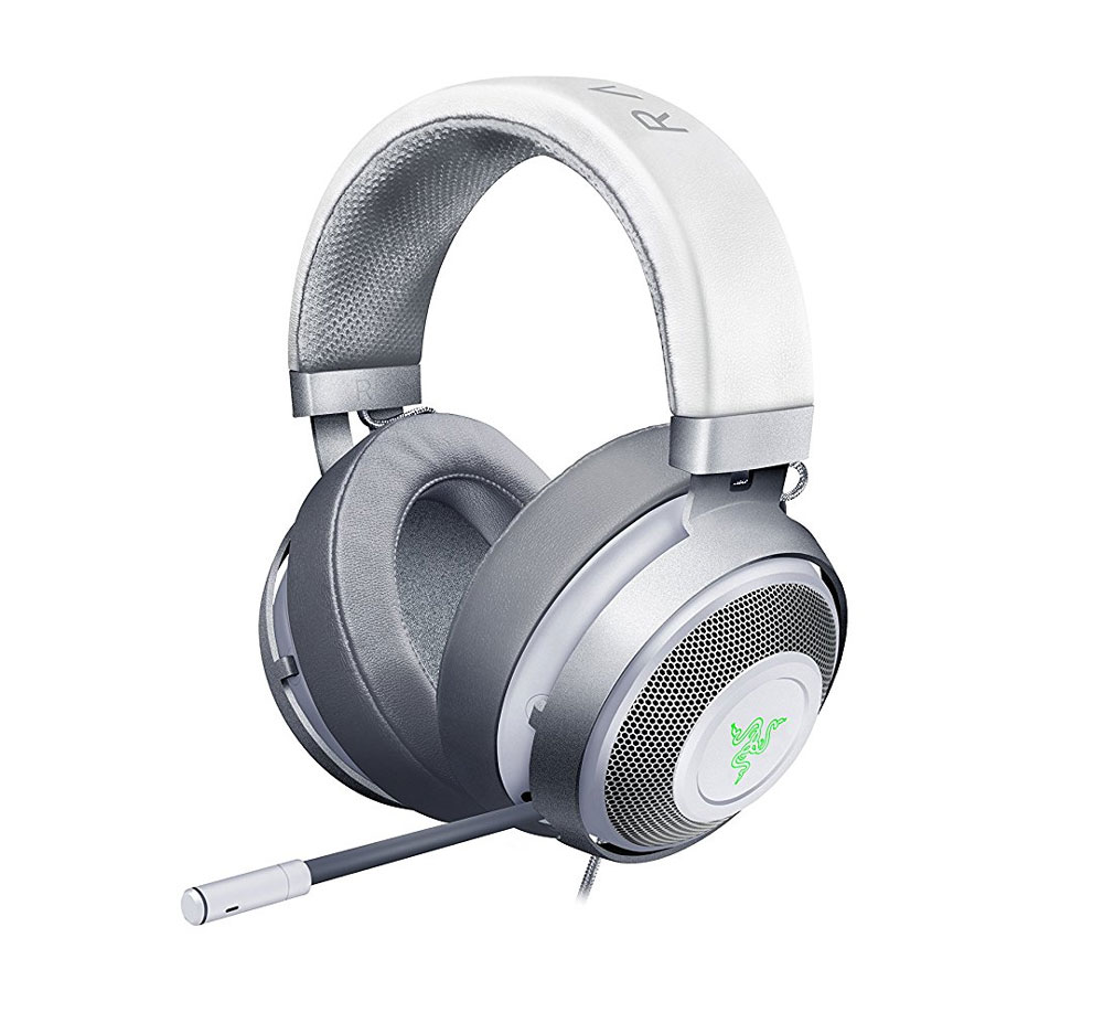 Razer Kraken 7.1 V2 Gaming Headset - Mercury White