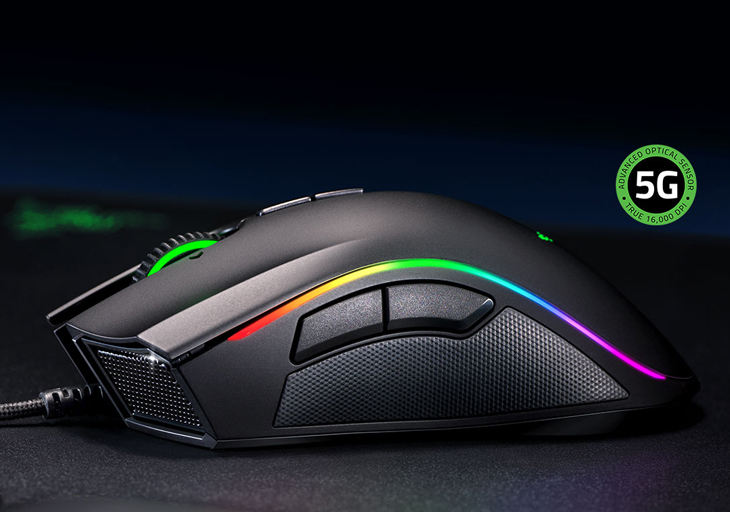 Razer Mamba Elite Advanced Ergonomic Gaming Mouse