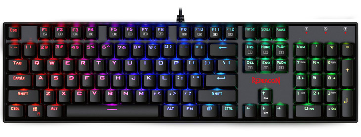 Redragon K551 MITRA RGB Mechanical Gaming Keyboard